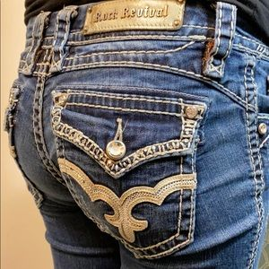Rock Revival May Skinny jeans size 27